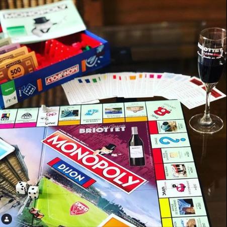 Le monopoly Dijon avec Briottet
