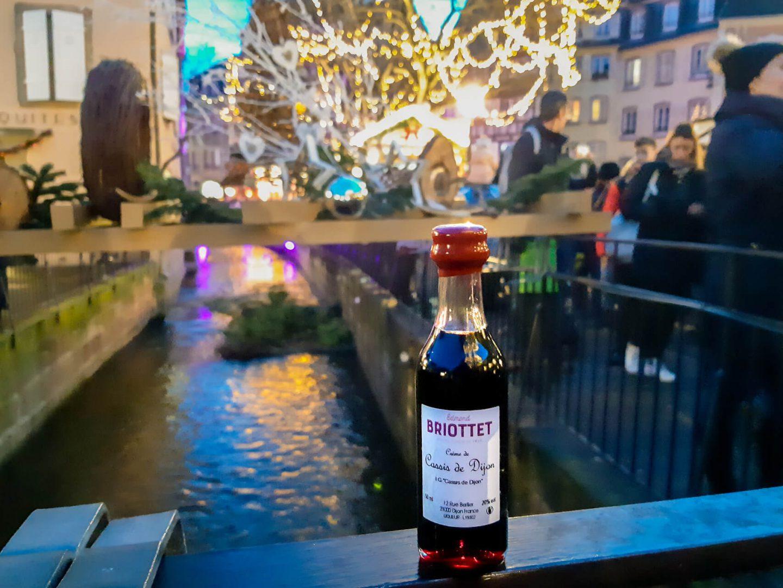 Le cassis Briottet à Noël
