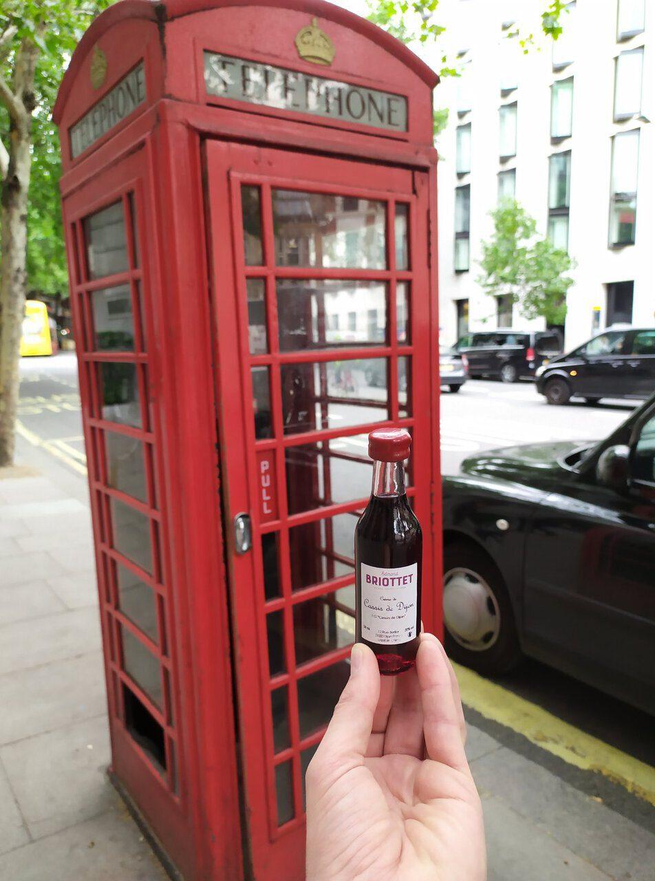Briottet à Londres