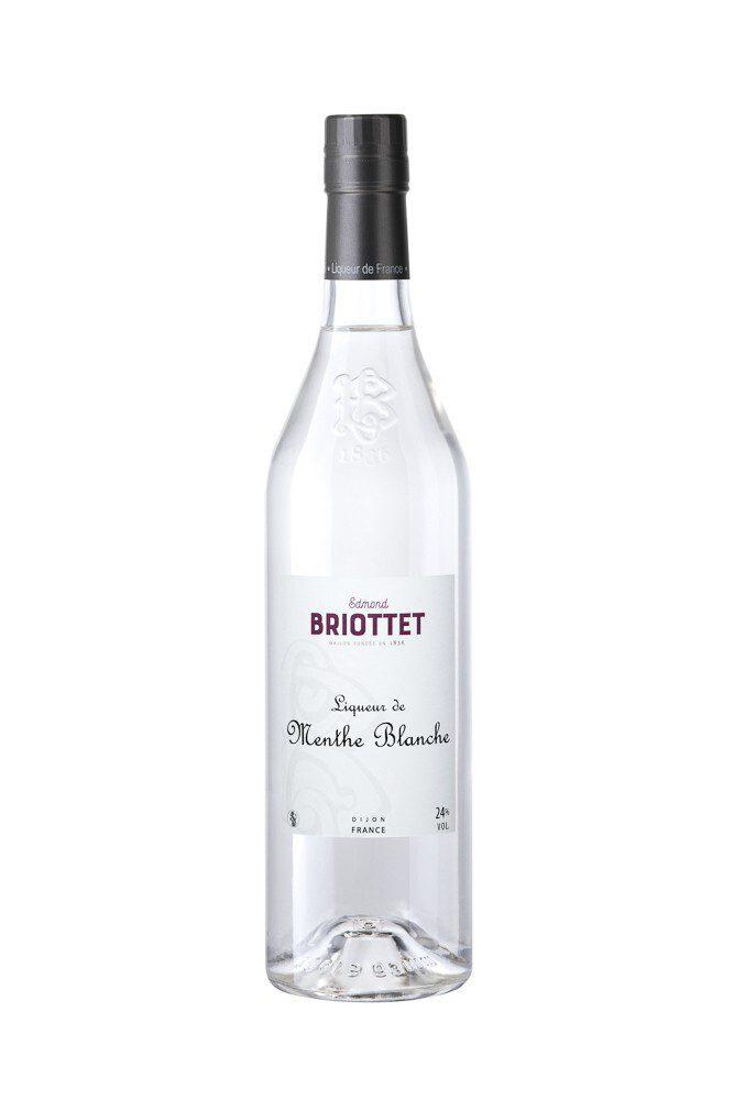 Briottet liqueur de Menthe Blanche artisanale