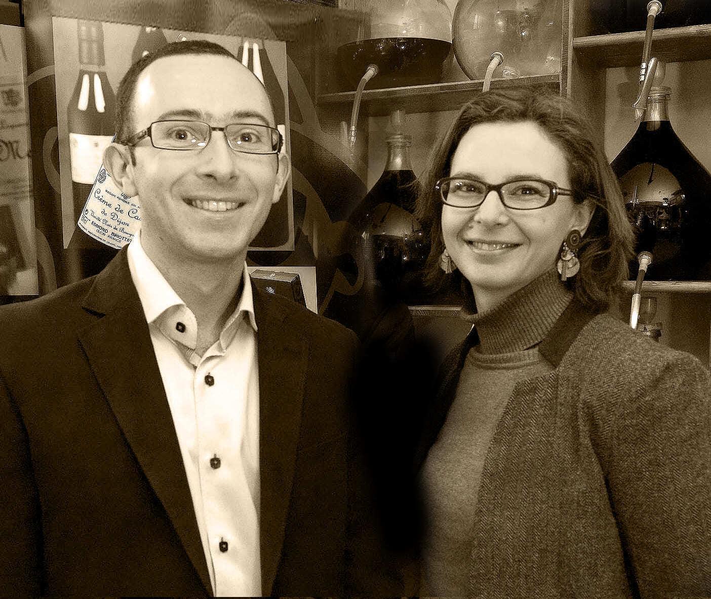 Vincent et Claire Portrait 2012