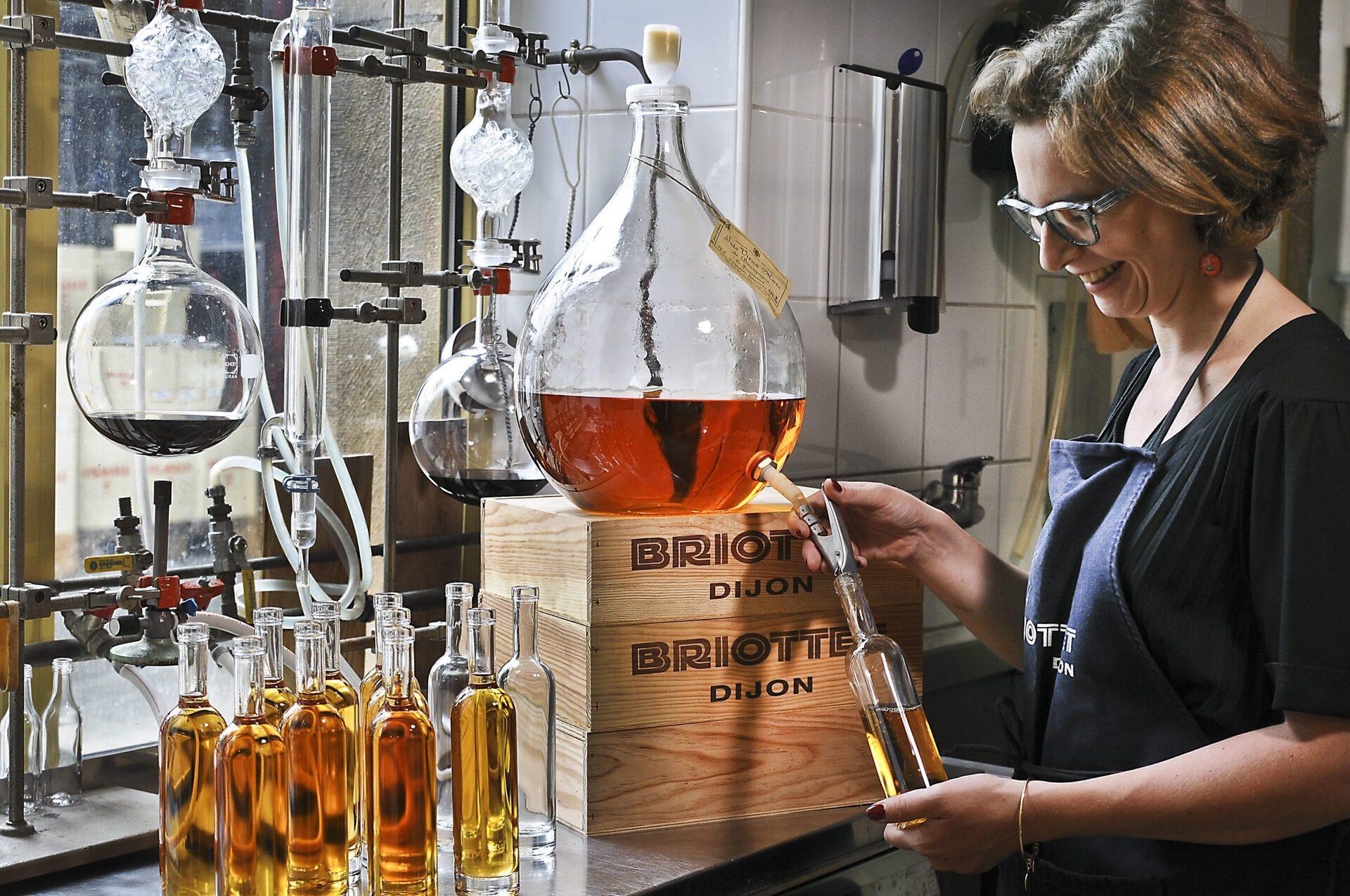 claire briottet au labo
