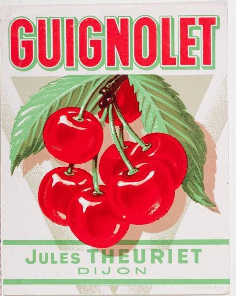etiquette guignolet theuriet briottet
