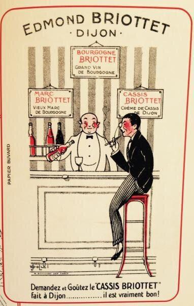 publicité années 1925 Briottet