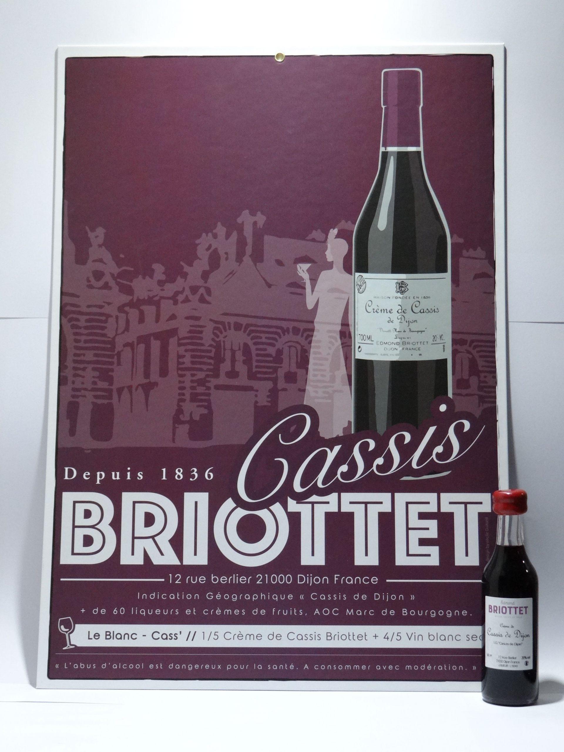 Affiche Briottet