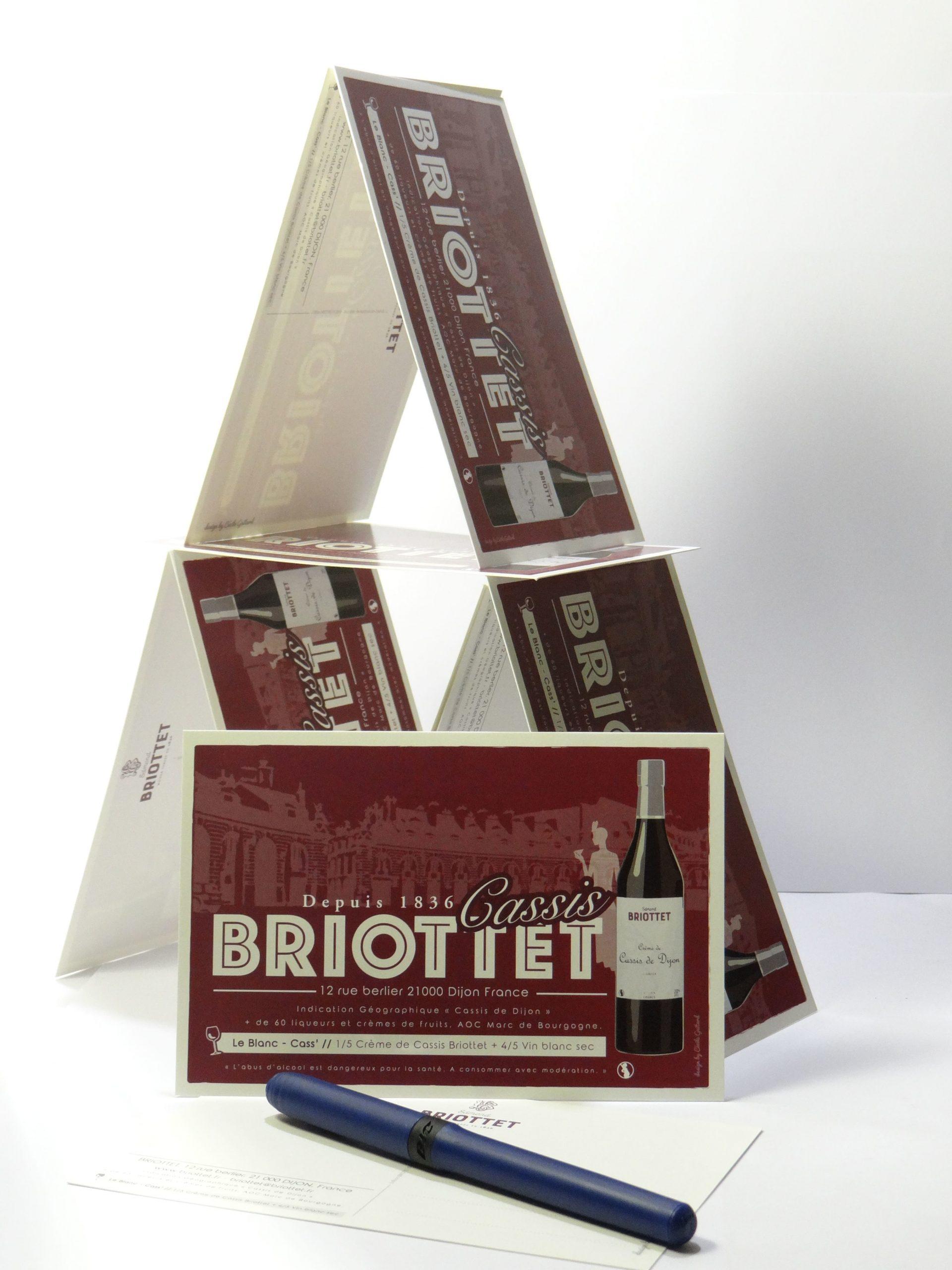Carte postale Briottet