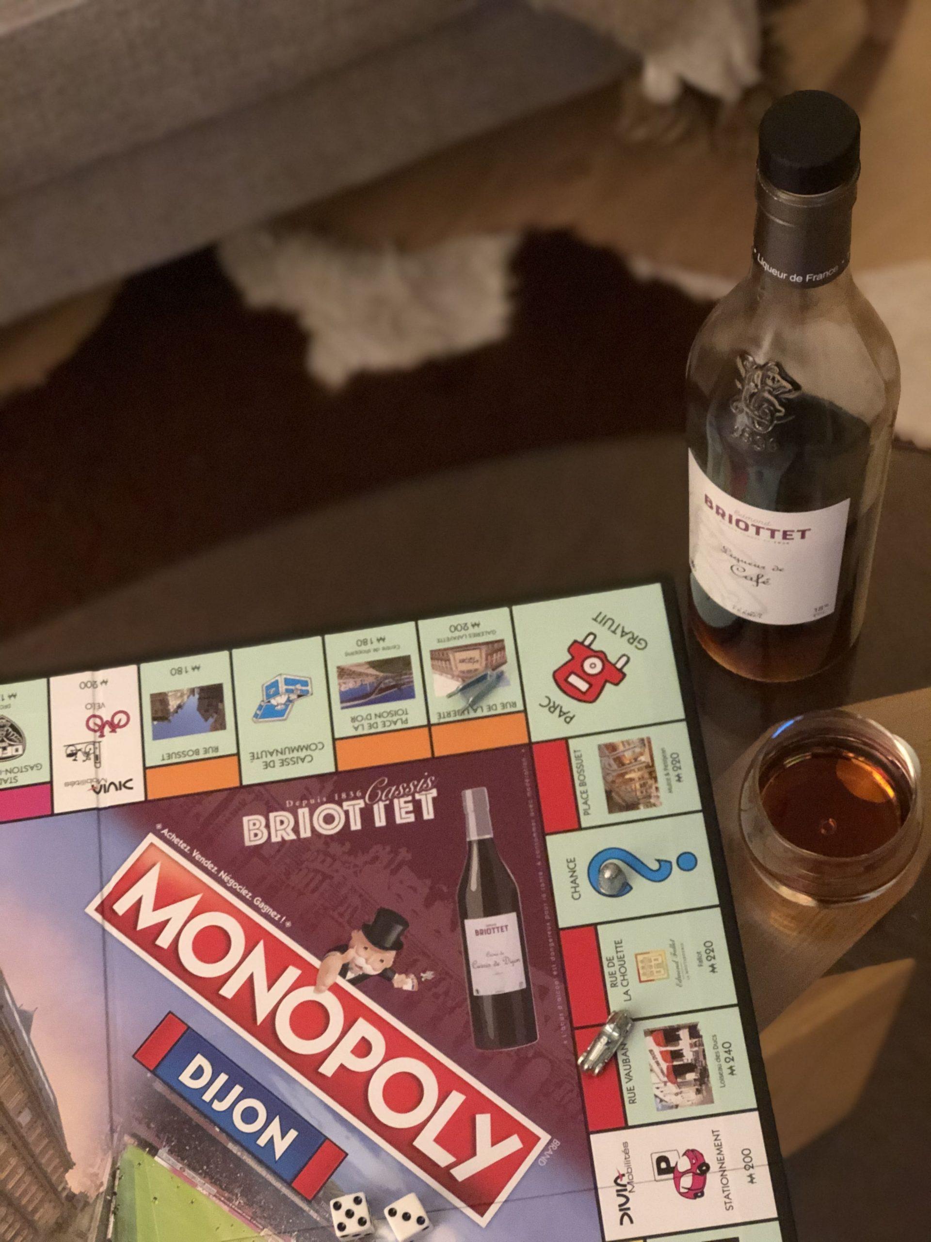Monopoly Dijon avec Briottet