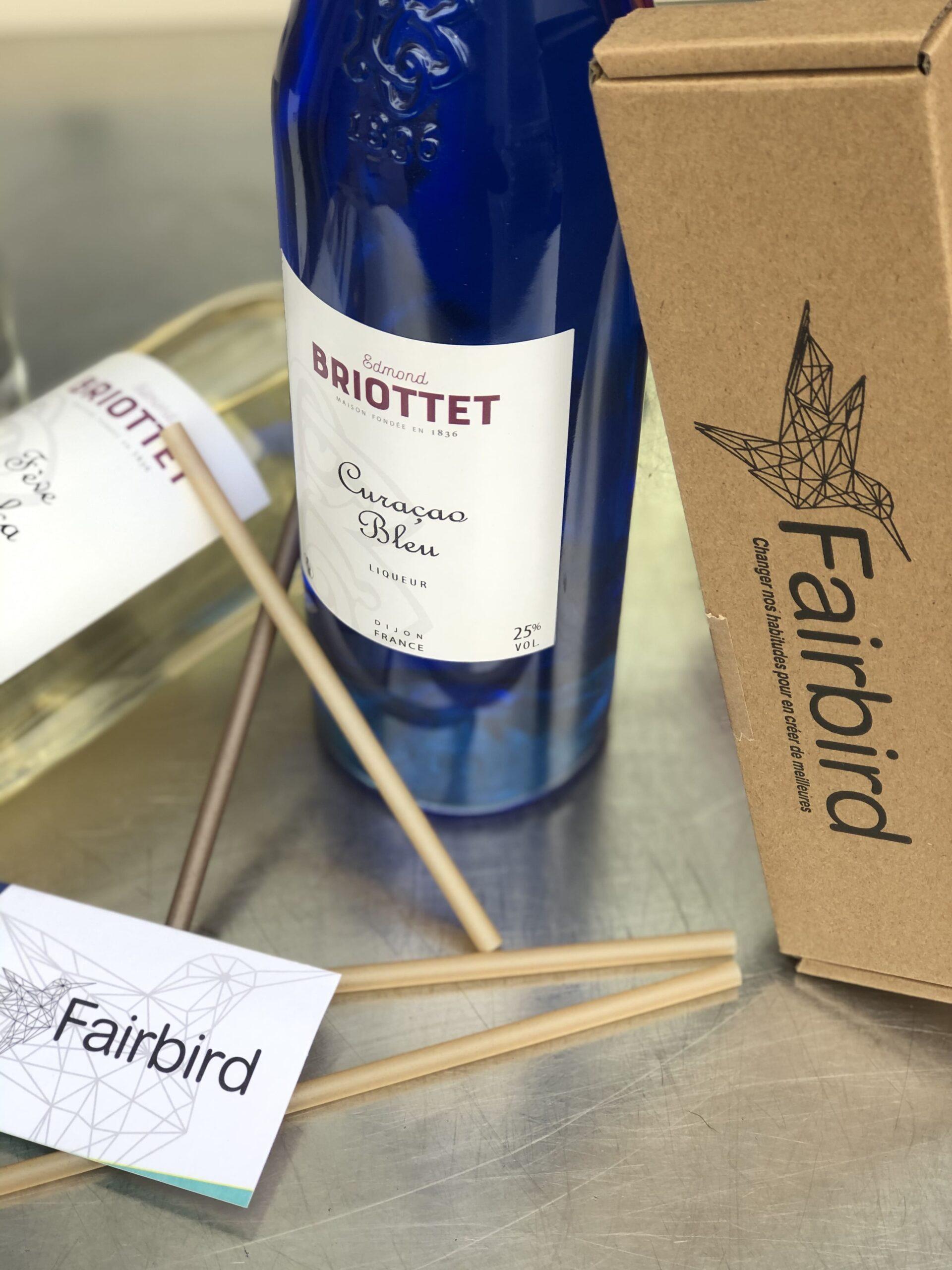 Briottet vous offre des pailles Fairbird