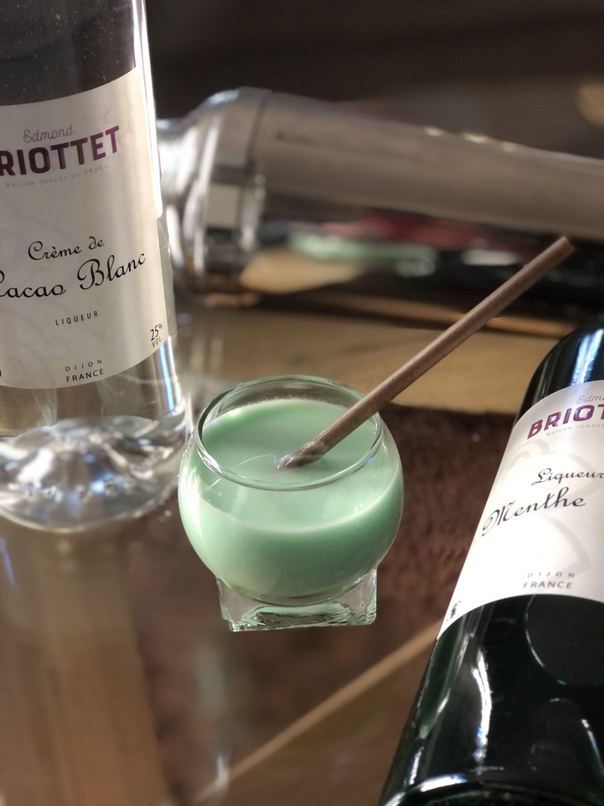 Grasshopper Liqueur de Menthe Briottet