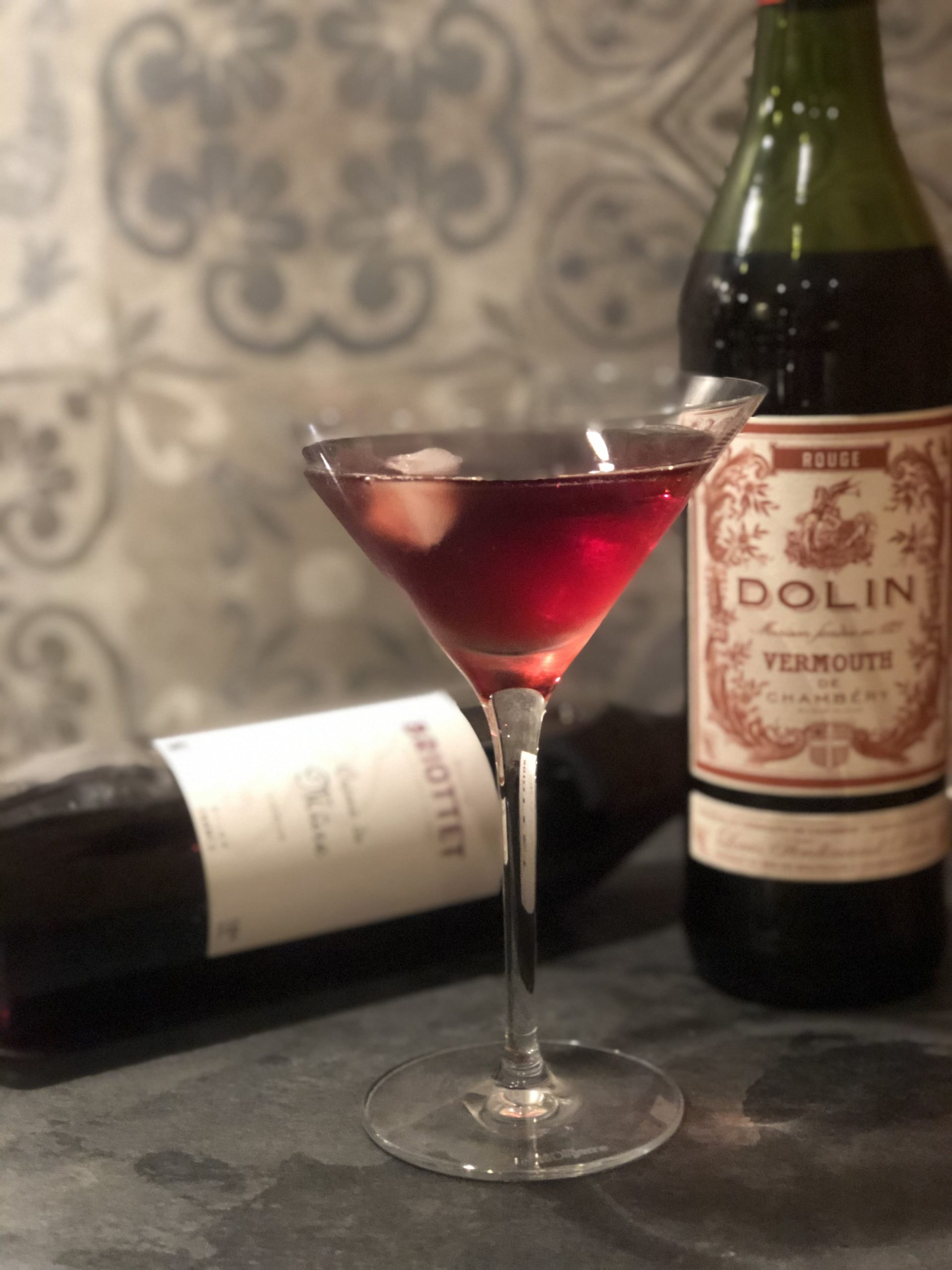 Cocktail Vermouth Mûre Briottet
