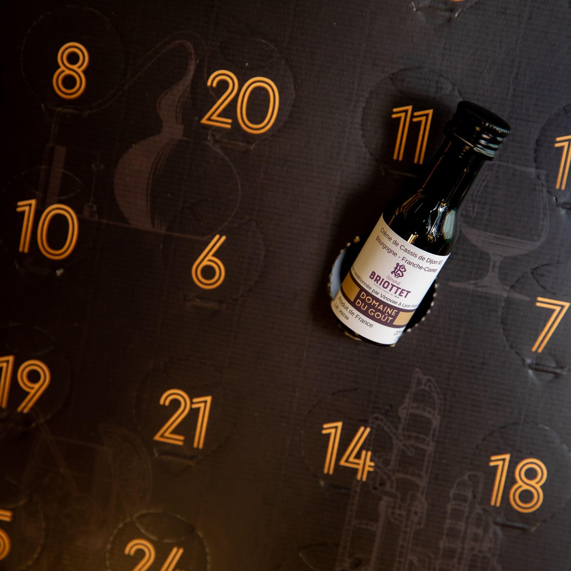 Briottet dans un calendrier de l'avent