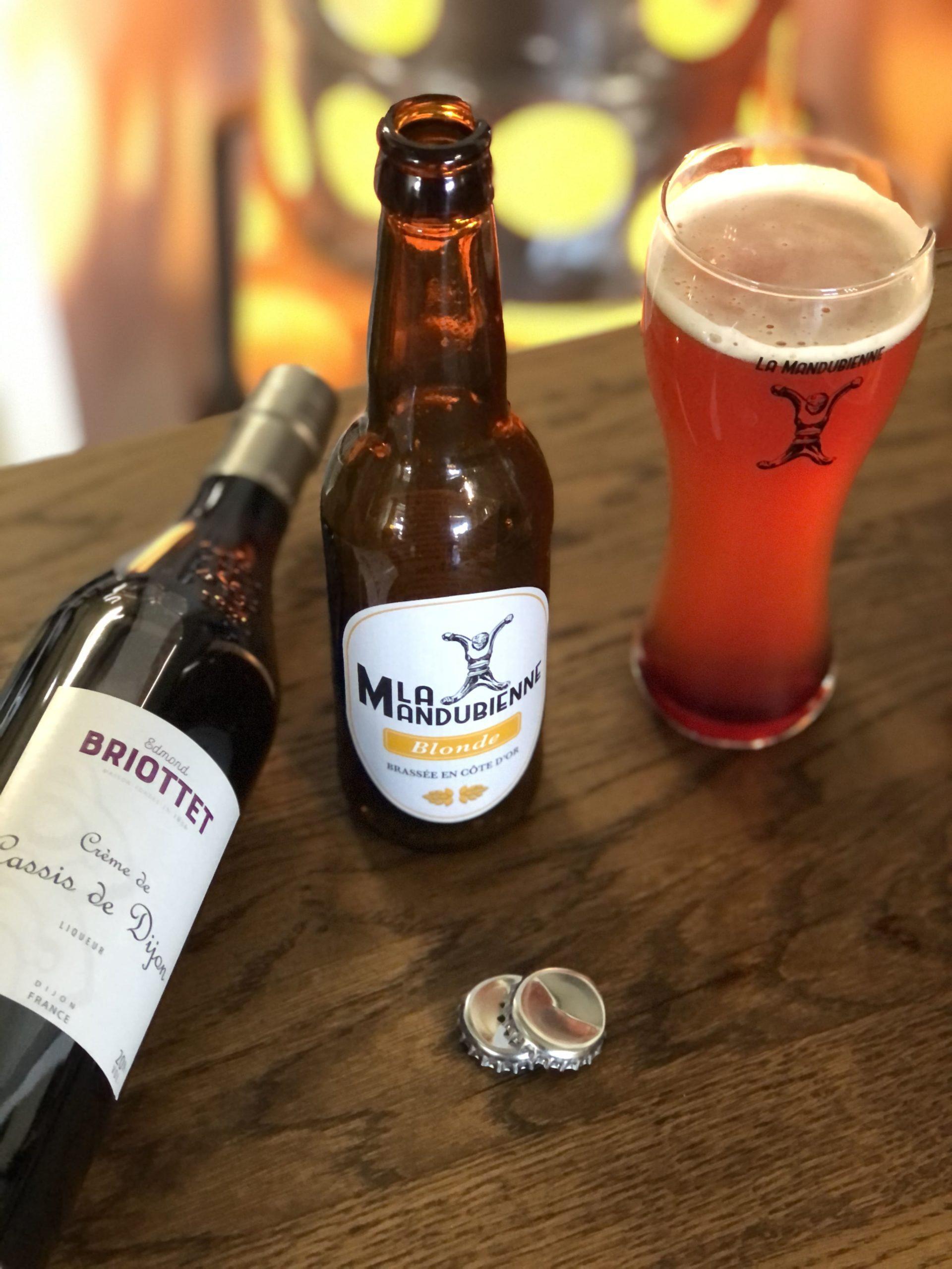 Cocktail Briottet Le Bir - Crème de Cassis de Dijon