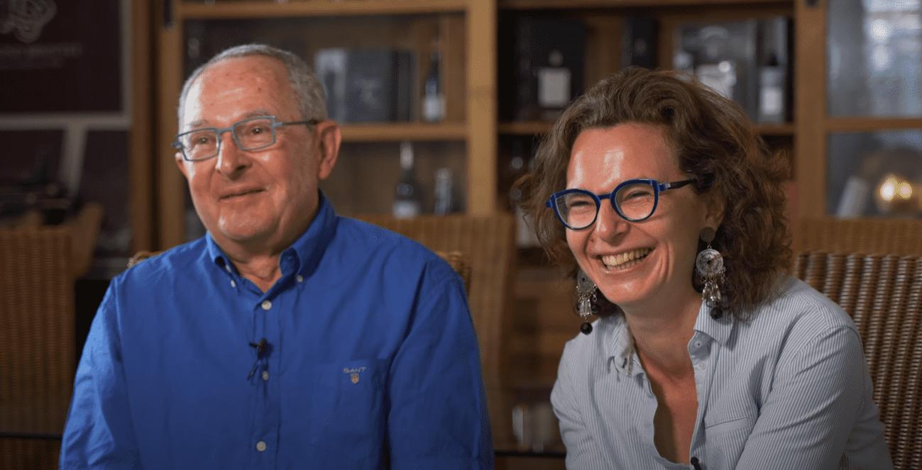 Transmission de savoir-faire de liquoriste entre Gérard et Claire et Vincent Briottet